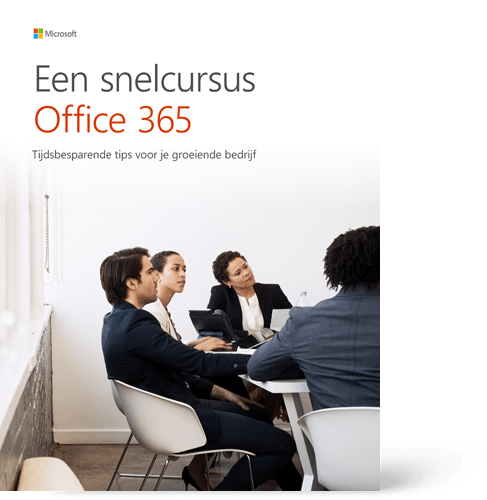 Cover E-Book een snelcursus office 365